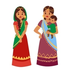 Indian people vector
