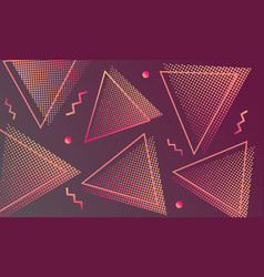 modern dynamic background vector image
