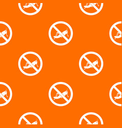 No locust sign pattern seamless vector