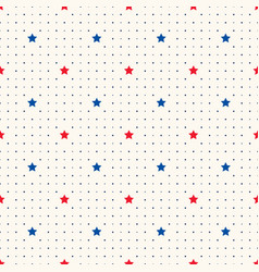 Seamless geometric pattern with red and vector