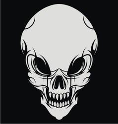Skull Face vector