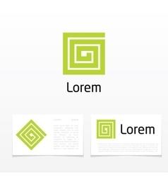 symbol letter g vector image