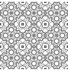 Pattern for coloring book Seamless decorative vector image vector image