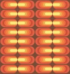 retro pattern series vector image