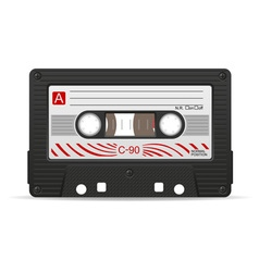 audio cassette 04 vector image