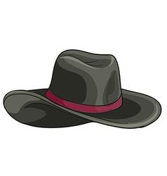 A grey hat vector