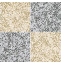 Abstract gray beige marble seamless texture tiled vector