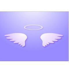 Angels wings vector