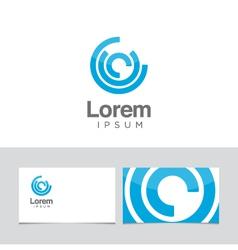 Circles icon vector
