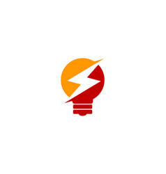 Creative power logo icon design vector
