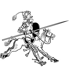 Don Quixote vector image