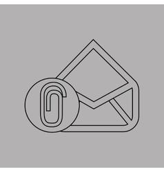 Email settings design vector