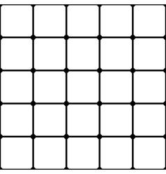 Grid seamless pattern vector
