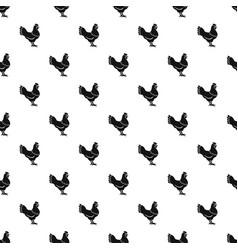 Hen pattern vector