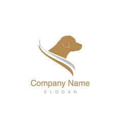 Labrador logo vector