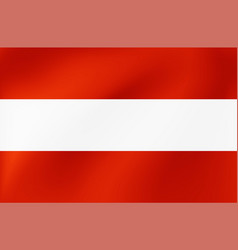 national flag austria beautiful vector image