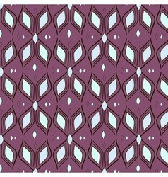 pattern textile waves vector image