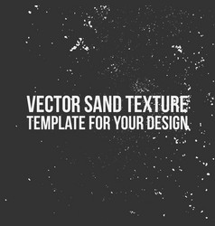 sand texture template vector image