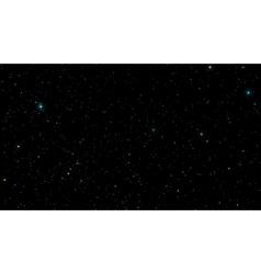 Stars in night sky Background vector