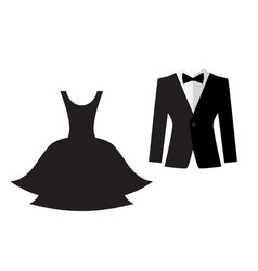 Dress and suit icon isolated royalty free vector image dress and suit icon isolated vector image publicscrutiny Gallery