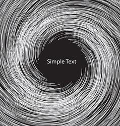 White circle abstract vector image