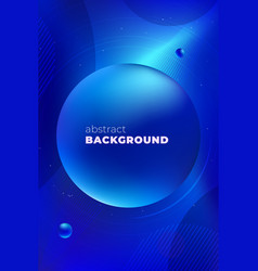 blue liquid color background design fluid vector image