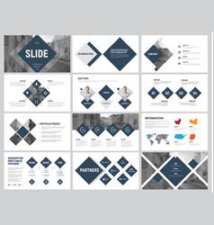 Design white and black minimalistic slides vector