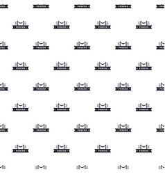 Fence parade pattern seamless vector
