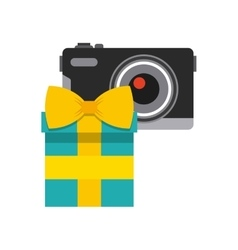 Gift box design vector