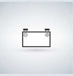 line car battery vector image