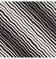 Seamless Hand Drawn Diagonal Lines Pattern vector
