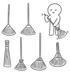 Set broom vector