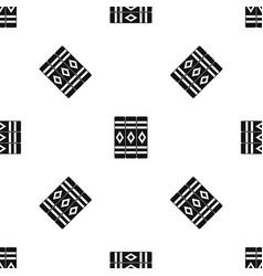 three literary books pattern seamless black vector image