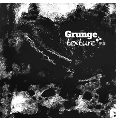 Grunge paint and water splattered texture vector image vector image