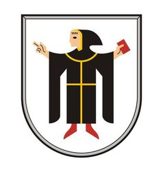 Munchen Coat of Arms vector image vector image