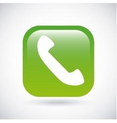 Phone icon button design graphic vector