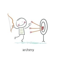 Archer vector image