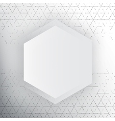abstract 3d hexagonal vector image