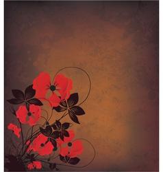 Autumn grunge background vector