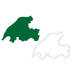 Dibrugarh district assam state republic india vector