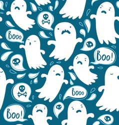 ghosts pattern vector image