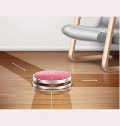 Robot vacuum cleaner vector