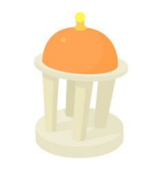 rotunda icon cartoon style vector image