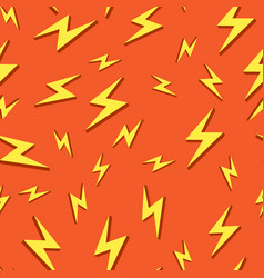 Seamless background pattern bolt iconsflat design vector