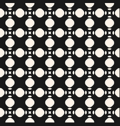 Seamless geometric texture with circles vector
