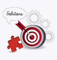 Solutions design vector