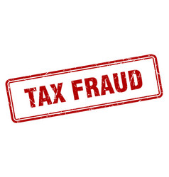 tax fraud vector image