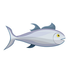 tuna fish icon cartoon style vector image