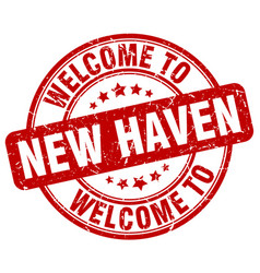 Welcome to new haven vector