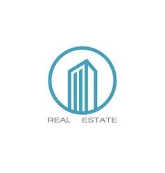 real estate logo designs for business vector image
